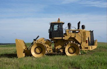 Landfill Compactor Cat 826K in Nambia