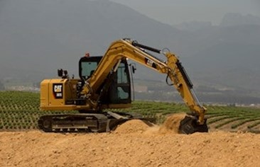 Extended Cat Mini Excavator Line up