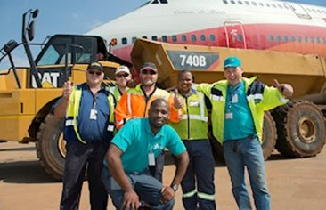 To the rescue in challenging airport operation