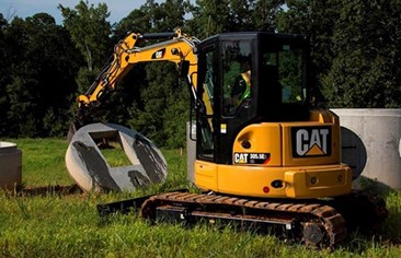 E-Series 2 Mini Excavator Adds A New Dimension