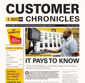 CUSTOMER CHRONICLES 1ST EDITION 2014