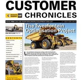 CUSTOMER CHRONICLES 1ST EDITION 2013