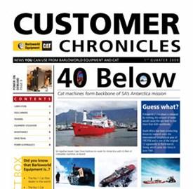 CUSTOMER CHRONICLES - 1 QUARTER 2009